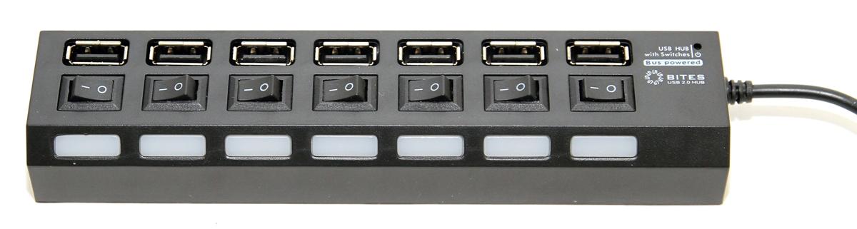 USB хаб (концентратор) HB27-203PBK