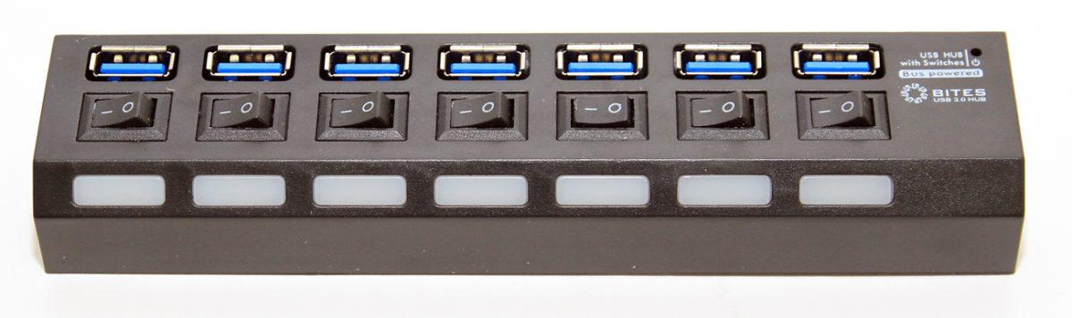 USB хаб (концентратор) HB37-303PBK