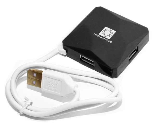 USB хаб (концентратор) HB24-202BK