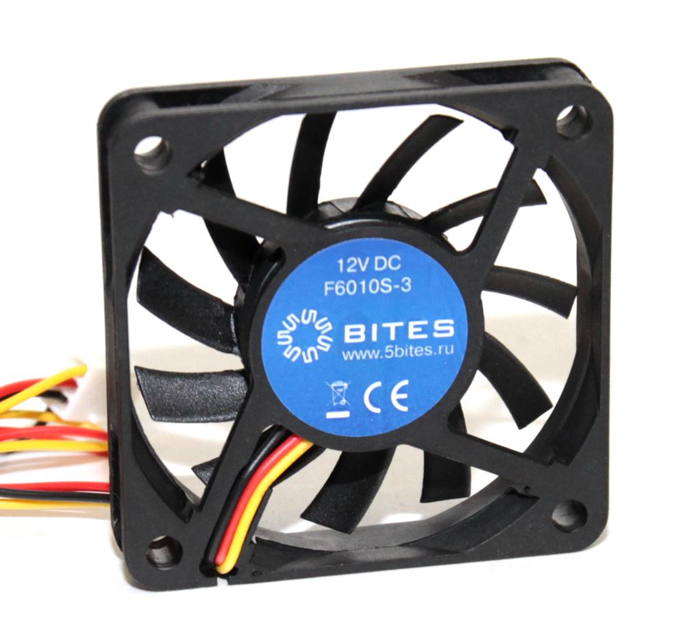 Вентилятор 5bites F6010B-3 60x60x10 / BALL / 3500RPM / 26DBA / 3P
